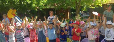 Праздник детства встретили в белгородском православном детском саду «Рождественский»