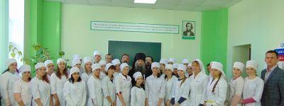 Епископ Валуйский благословил открытие курсов сестёр милосердия в Валуйском медицинском училище