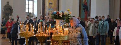 С литургии в храме Рождества Пресвятой Богородицы началось празднование Дня города и престольного праздника в Короче