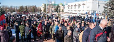 Митрополит Белгородский совершил заупокойную литию о погибших воинах в Афганистане