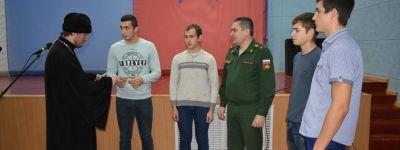Благочинный Ровеньского округа принял участие в Дне Призывника