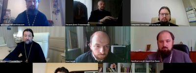 Проректор и секретарь Учёного Совета Белгородской семинарии приняли участие в общецерковном вебинаре по организации летнего набора семинаристов