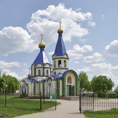 Храм Святой Живоначальной Троицы в Большетроицком