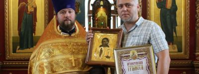 Главного редактора газеты «Заря» наградили Архиерейской грамотой