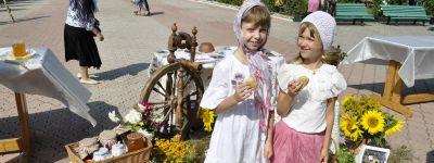 Освящение мёда в Медовый Спас провели в Губкине