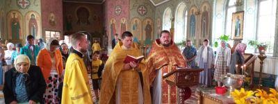 Главный храм Красненского благочиния отметил престольный праздник
