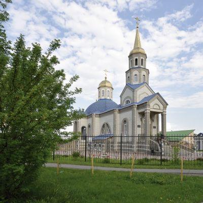 Храм Успения Пресвятой Богородицы в селе Венгеровка