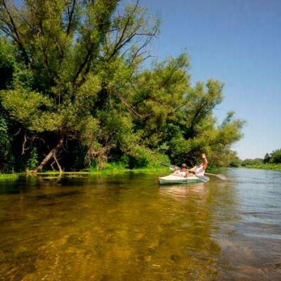 Двухдневный паломнический тур на байдарках по реке Оскол.