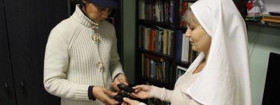 В белгородском Марфо-Мариинском сестричестве милосердия завершилась благотворительная акция «Позвони мне, позвони!»