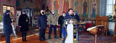 Красненские воины-интернационалисты пришли на панихиду по своим товарищам в  Свято-Ильинский храм