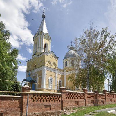 Соборный храм святителя Николая в городе Грайворон