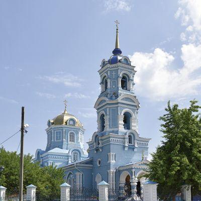 Храм Успения Пресвятой Богородицы в Волоконовке