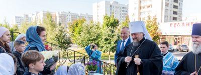 В день освобождения города белгородцы отметили престольный праздник Почаевской иконы Божией Матери