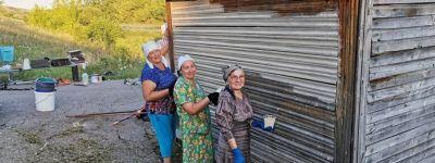 Прихожане храма Рождества Пресвятой Богородицы в Колтуновке провели субботник в святом источнике
