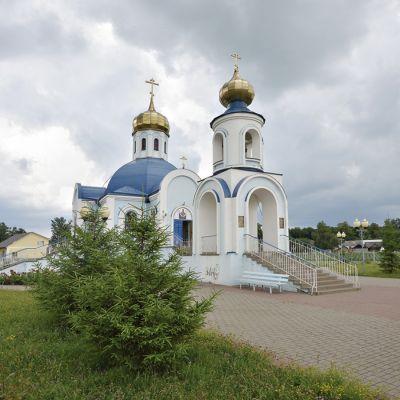 Храм Покрова Пресвятой Богородицы в селе Бобровы Дворы