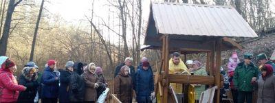 Настоятель храма преподобного Сергия Радонежского освятил источник в селе Теребрено