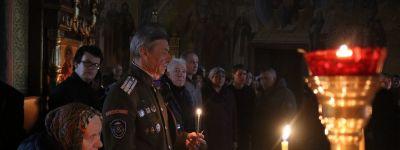 Чтение Великого покаянного канона преподобного Андрея Критского Епископ Губкинский совершил в храмах Ракитянского благочиния