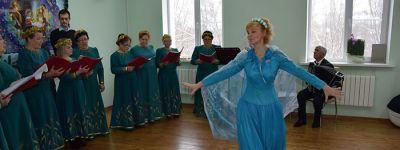 Рождественский концерт представили в приходе Александро-Невского кафедрального собора в Старом Осколе