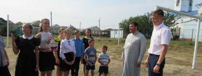 Глава Яковлевского района выразил благодарность настоятелю храма в Томаровке