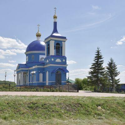 Храм Казанской иконы Божией Матери в селе Солдатка