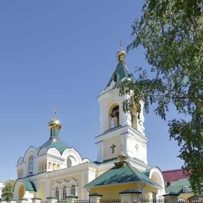 Храм Святителя Николая Чудотворца в городе Валуйки