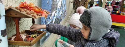 Зимние «птичьи столовые» создали ребята из православного детского сада в Белгороде