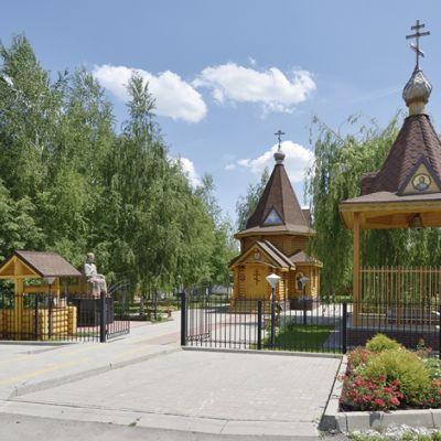 Храм-часовня Святителя Иоасафа Белгородского, чудотворца в хуторе Ездоцкий