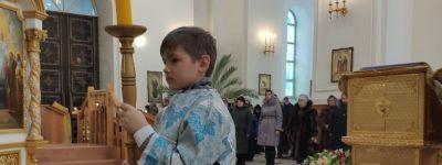 Епископ Валуйский совершил литургию в Свято-Николаевском кафедральном соборе