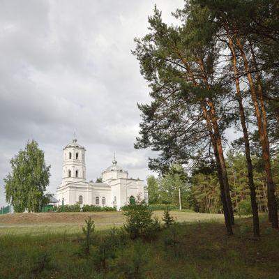 Храм Живоначальной Троицы в селе Окуни