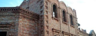 Строительство Тихвинского храма в Богородице-Тихвинском монастыре близится к завершению