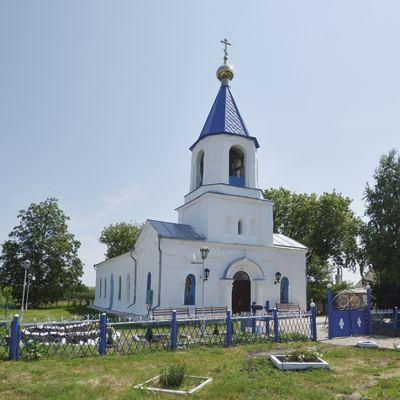 Храм Святителя Тихона Задонского в селе Камышеватое