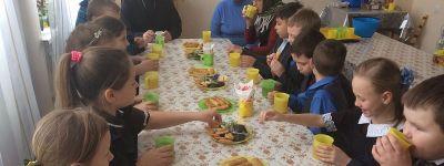 В Гостищево состоялось занятие православного клуба «Благовест», посвященное неделе мытаря и фарисея