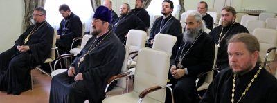 В Губкинском епархиальном управлении прошёл пастырский семинар для духовенства