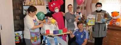 В Грайворонском благочинии поздравили с Днём защиты детей детей-инвалидов