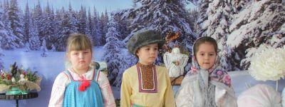 В детском саду «Колокольчик» в Строителе состоялся утренник, посвященный празднику Крещения Господня
