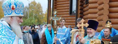 Престольный праздник на Покров встретили в Федосеевке