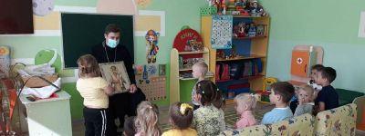 55 ребятишек в Зенино начали обучение в православной студии «Лампадка», открытой при поддержке президентского гранта