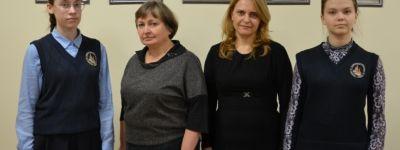 Православные гимназистки из Старого Оскола успешно выступили на олимпиаде по русскому языку