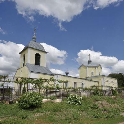 Храм Святителя Димитрия Ростовского в селе Никитовка