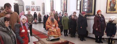 Епископ Валуйский совершил службу в посёлке Уразово