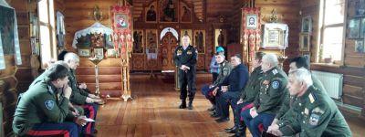 Сход казаков провели в храме в Рождествено