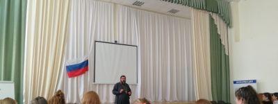 Беседу со старшеклассниками на тему «Нравственные проблемы сегодня» провёл яковлевский благочинный