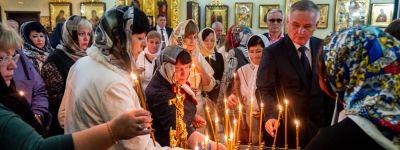 Белгородский митрополит совершил заупокойную литию о стражах порядка, погибших на посту