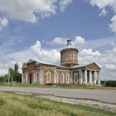 Храм иконы Божией Матери «Знамение» в селе Знаменка