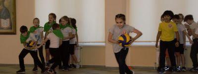 Спортивный турнир «Сила богатырская» в честь Александра Невского провели в православной гимназии в Старом Осколе