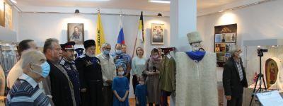 В Вейделевском краеведческом музее состоялось торжественное открытие выставки, посвящённой царю-страстотерпцу