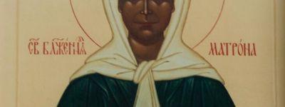 Икона с мощами блаженной Матроны Московской в понедельник прибудет в храмы Старого Оскола