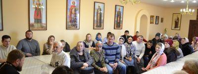 Итоги года подвели прихожане храма Покрова Пресвятой Богородицы села Шопино