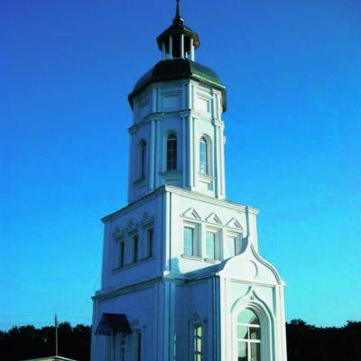 Храм Всех Святых в земле Российской просиявших в Комсомольском