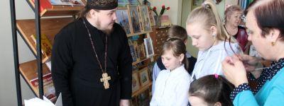 Православную беседу «К душе своей найди дорогу» провели в Погромской библиотеке